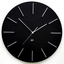 Future Time FT2010BK Round black Design falióra, átmérő 40 cm