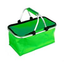 Kemping bevásárlótáska, zöld