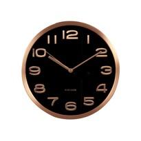 Karlsson KA5578BK Designové nástenné hodiny, 29 cm