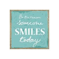 Tablou Smile Today, albastru