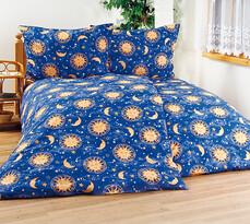 4Home bavlnené obliečky Nočná obloha, 240 x 220 cm, 2 ks 70 x 90 cm