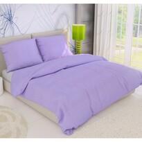 Krepové obliečky fialová, 140 x 220 cm, 70 x 90 cm