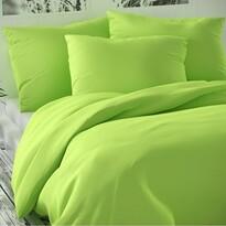 Saténové povlečení Luxury Collection světle zelená