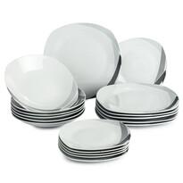 Banquet Trinity súprava tanierov, 18 ks