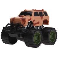 Monster truck piros, 13 cm