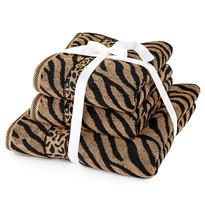 Komplet ręczników Zebra brązowy