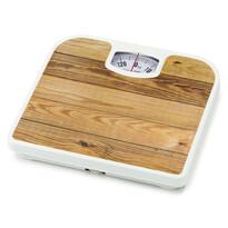 Osobní mechanická váha Plank Alder, hnědá