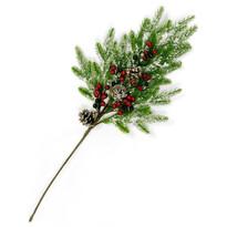 Gałązka świąteczna Gineta, 65 cm