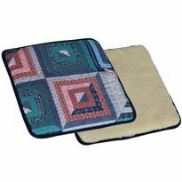 Merino patchwork gyapjú ülőpárna mágnesekkel