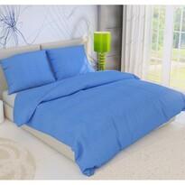 Pościel z kory niebieski, 140 x 200 cm, 70 x 90 cm