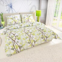 Bamboo pamut ágyneműhuzat zöld