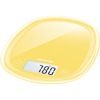Sencor SKS 36YL kuchyňská váha, žlutá