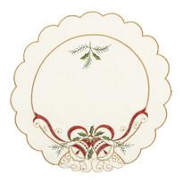 Vánoční prostírání Zvony, 35 cm, sada 4 ks