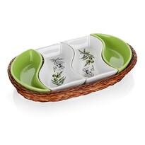 Boluri de servire în coș Banquet Olives 30,5 cm