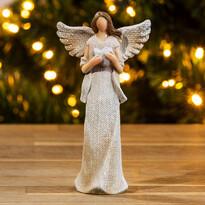Anděl se srdcem, 15 cm