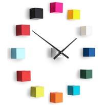 Future Time FT3000MC Cubic multicolor Design falra ragasztható óra, átmérő 50 cm