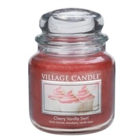 Village Candle Vonná svíčka Višeň a vanilka