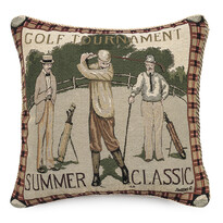 Poduszka Ornament Golf, 43 x 43 cm
