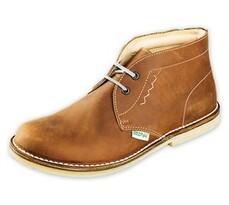Orto Plus Pánska členková obuv vel. 42 hnedá