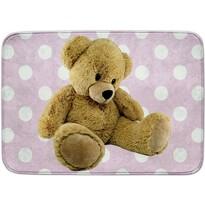 Dětský koberec Ultra Soft Medvídek růžová