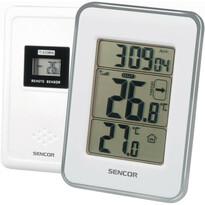 Sencor SWS 25 WS Termometru interior-exterior cu senzor, alb