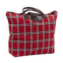 Skladacia taška Kocka, červená
