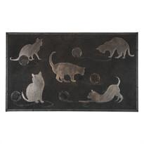 Cicák lábtörlő, 45 x 75 cmfekete,