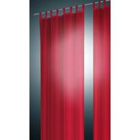 Závěs David červená, 140 x 240 cm, sada 2 ks