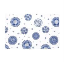 Prostírání Blue laces bílá, 28 x 43 cm