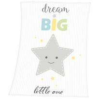 Pătură de copiii  Fynn Dream Big, 75 x 100 cm