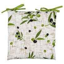 Sedák prošívaný Olivy, 40 x 40 cm