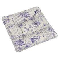 Sedák Adela Byliny fialová, 40 x 40 cm