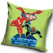 Vankúšik Justice League green, 40 x 40 cm