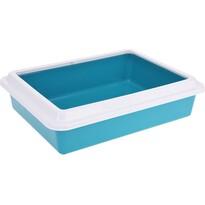 Toaletă pentru pisici Simple, albastru