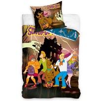 Dětské bavlněné povlečení Scooby Doo Halloween, 140 x 200 cm, 70 x 90 cm