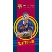 Ręcznik kąpielowy FC Barcelona Neymar, 70 x 140 cm