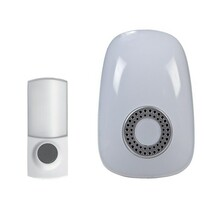 Solight Bezdrátový zvonek do zásuvky bílá, 150m