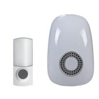 Solight Bezdrôtový zvonček do zásuvky biela, 150m