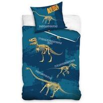 Dziecięca pościel bawełniana Animal Planet Dino, 140 x 200 cm, 70 x 80 cm