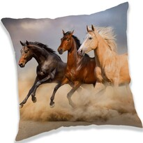 Polštářek Koně 01, 40 x 40 cm