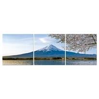 Trojdielný obraz hora