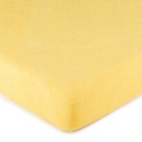 4Home frottír lepedő sárga