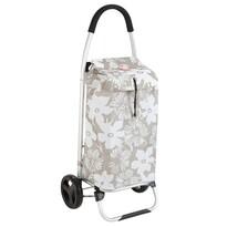 Nákupná taška na kolieskach Praga Flor