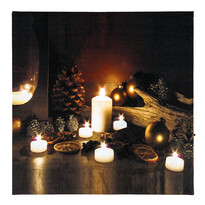 LED Obraz vianočné prekvapenie