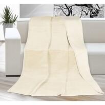 Pătură Kira, bej/bej deschis, 150 x 200 cm
