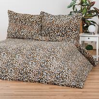 Obliečky Mikroplyš Leopard, 140 x 200 cm, 70 x 90 cm