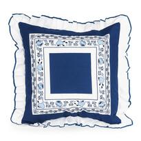 Poduszka w wzorze cebulowym, 40 x 40 cm