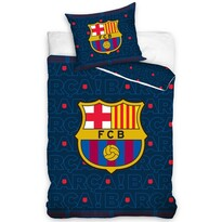Bavlněné povlečení FC Barcelona Barca, 140 x 200 cm, 70 x 90 cm