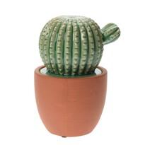 Keramický kaktus v květináči Veracruz, 15 cm