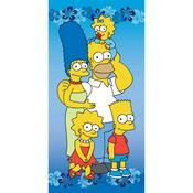 Osuška Simpsons, 75 x 150 cm